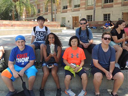 UCLA Middle School Enrichment > Campus Life & Activities