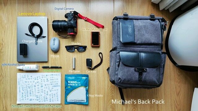 What's in your or your student's backpack?