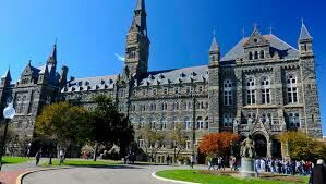 A Week in My Life at Georgetown University