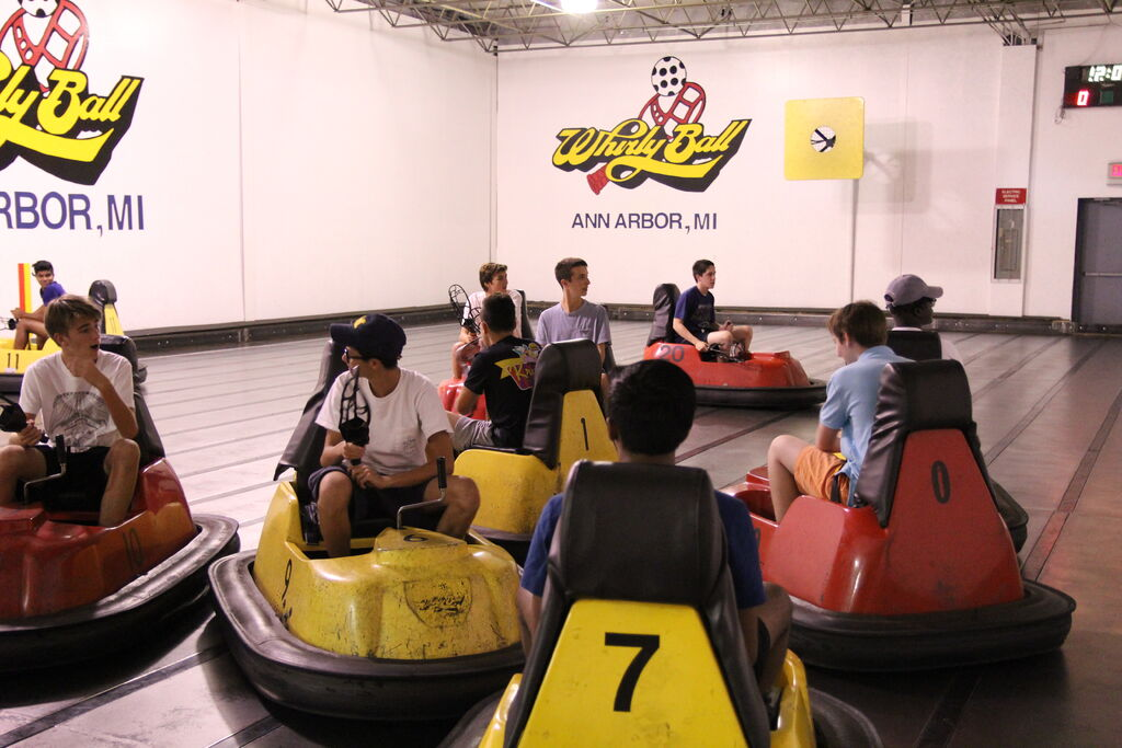 What is Whirlyball and other fun facts about Ann Arbor